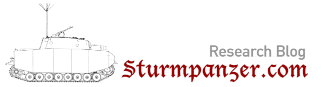 Research Blog – Sturmpanzer.com