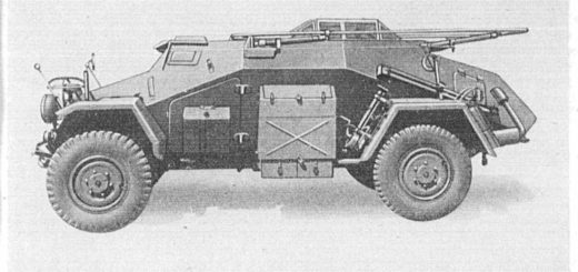 German Light Armored Radio Vehicle