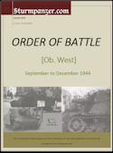 Ob West Order of Battle