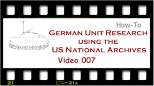 Video German Unit Research