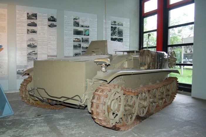 Schwerer Sprengladungsträger Borgward IV Panzermuseum Munster
