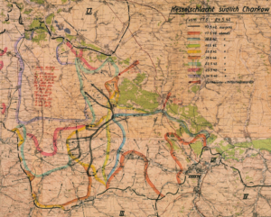 Map - Second Battle of Kharkov