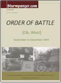Ob West Order of Battle