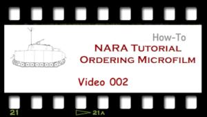 NARA Ordering Microfilm
